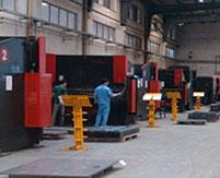 汽车衡生产线之一 --------液压剪板机