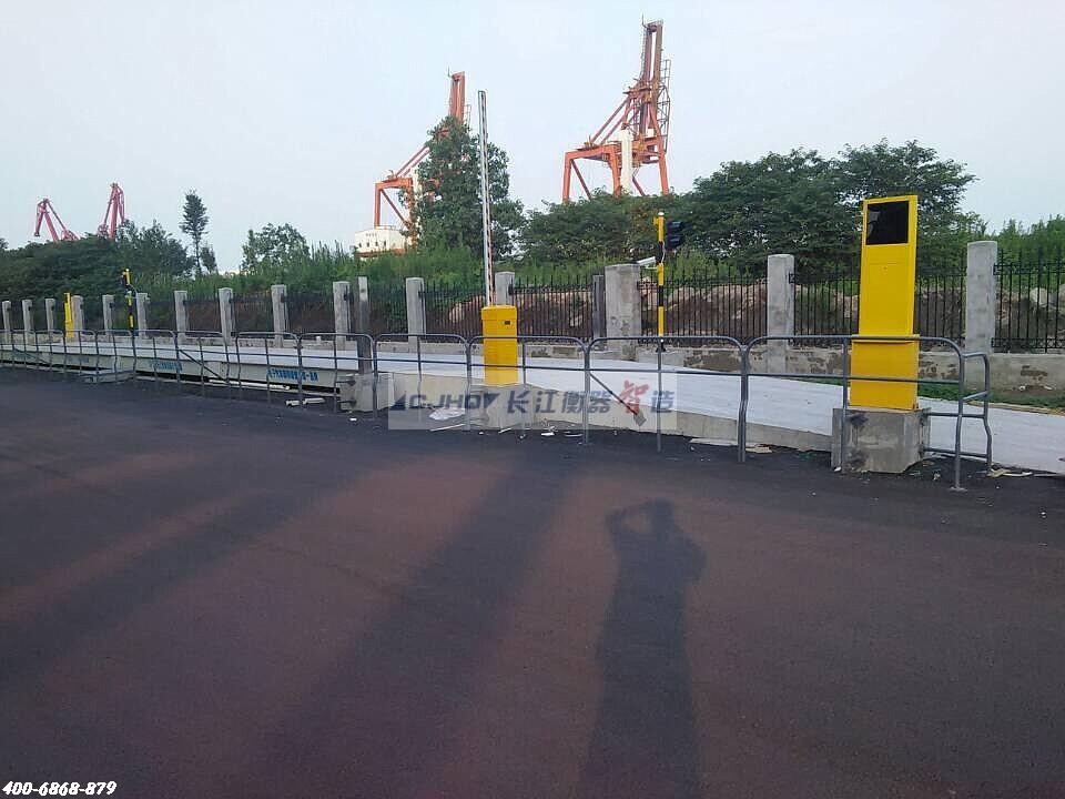 邳州中联水泥AVS无人值守称重系统完工